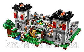 """Конструктор Minecraft Bela 10472 """"Крепость"""" (аналог Lego Minecraft ), 990 деталей, фото 3"""