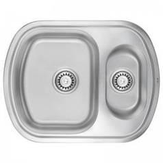 Кухонная мойка ULA 7703 U Satin с доп чашей (ULA7703SAT08)