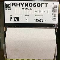 Шлиф-шкурка Indasa Rhynosoft P120 115мм*25м, на поролоне