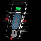 Беспроводное автомобильное зарядное устройство Baseus Gravity 10W Black (WXYL-01), фото 8