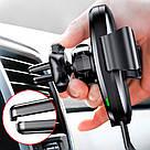 Беспроводное автомобильное зарядное устройство Baseus Gravity 10W Black (WXYL-01), фото 5