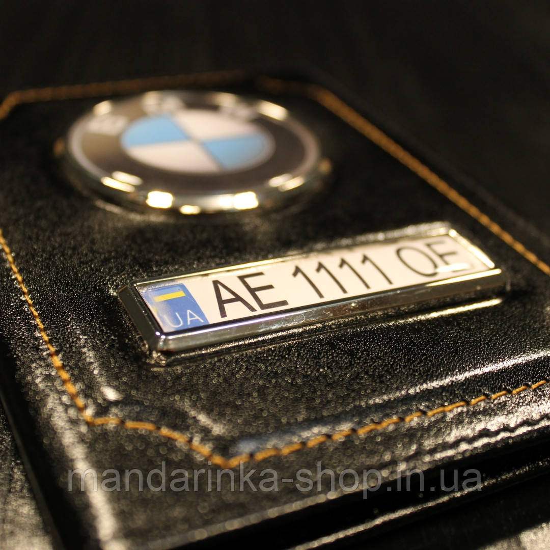 Обложка гос.номер BMW