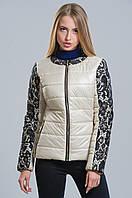 Трендовая куртка с кружевом (беж), разные цвета