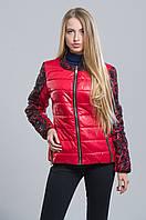 Трендовая куртка с кружевом (красный), разные цвета
