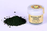 Краска сухая для цветов Sugarflair лесная зелень