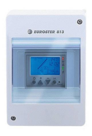 Блок управления для солнечных коллекторов Euroster 813 ( Польша), фото 2