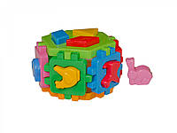 "Іграшка куб ""Розумний малюк Гексагон 1 ТехноК"", 1981 (20шт) в пак. 15.5 × 14.5 × 10 см"