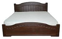 Ліжко двоспальне з ДСП/МДФ в спальню Домініка 160х200 Неман