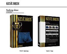 Мужские трусы боксеры KEVEBRON (XL-4XL)  Арт.KV09007, фото 2