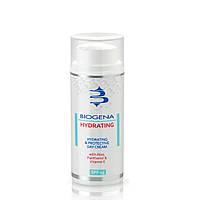 Biogena Hydrating and Protective Day Cream SPF 15 - Денний зволожуючий і захисний крем з SPF-15, фото 1