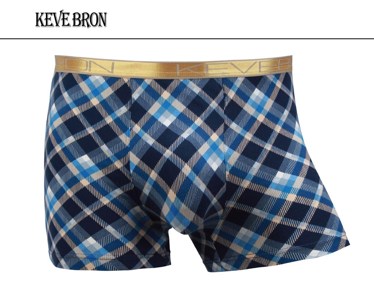 Мужские трусы боксеры KEVEBRON (XL-4XL)  Арт.KV09012