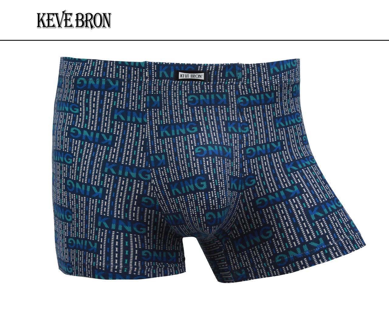 Мужские трусы боксеры KEVEBRON (XL-4XL)  Арт.KV09016