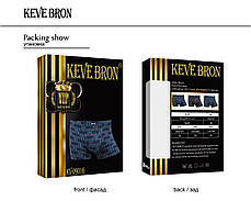 Мужские трусы боксеры KEVEBRON (XL-4XL)  Арт.KV09016, фото 3