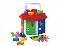 """Іграшка """"Розумний малюк Будиночок ТехноК"""", 2438 (8шт) в сітці 19 × 19 × 16.5 см"""