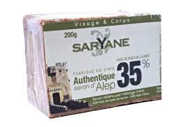 Алеппское мыло 35% лавра 200гр Saryane