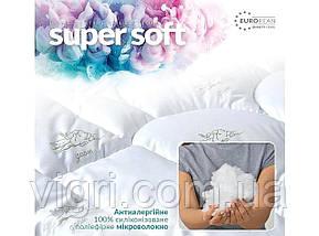Ковдра лебединий пух, двоспальне 175х210, тм. Ідея. «IDEIA» Super Soft Classic, фото 3