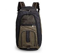 Городской рюкзак и сумка BST 280026 61х33х19 см. темно-синий