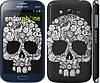 "Чехол на Samsung Galaxy Grand Duos I9082 Череп с цветами ""2864c-66"""