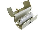 КРКМ-10х2 — Коробка распределительная телефонная с 10-парным размыкаемым плинт, стальная, с замком