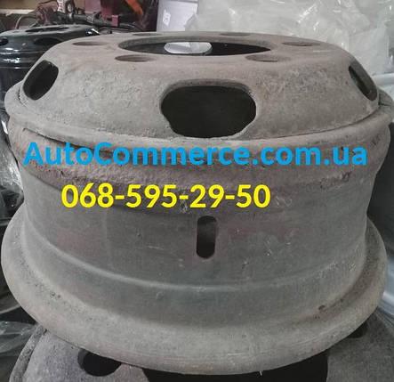 Диск колесный FAW 1051, 1061 ФАВ, Dong Feng 1062, 1064, 1074 ДонгФенг, DF40, DF47 Б/У, фото 2