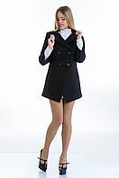 Женское стильное кашемировое пальто-фрак, разные цвета