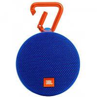 Портативная Bluetooth колонка JBL Clip 2 Blue Синяя