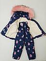 Зимний костюм для девочки 86р, фото 4