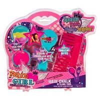 Набор детской декоративной косметики с мелками для волос, 81030