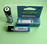 Литий-ионный аккумулятор 3.7V 18650 Li-ion 2400 mAh с защитой от перезарядки