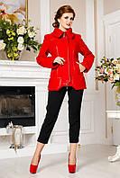 Модная красная шерстяная куртка, разные цвета