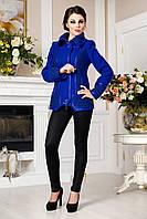 Модная синяя шерстяная куртка, разные цвета