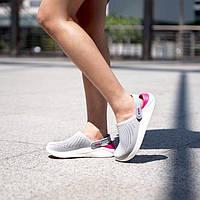 Crocs literide Женские кроксы сабо кроксы серо-розовые крокс лайтрайд оригинал