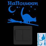Светящаяся наклейка для Хэллоуина - размер наклейки 15*10см, (впитывает свет и светится в темноте), фото 2