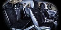 Накидки на сидіння CarFashion Модель: CITY PLUS Чорний - чорний (22471), фото 1