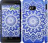 "Чехол на HTC One M7 Восточный узор v2 ""2863c-36"""