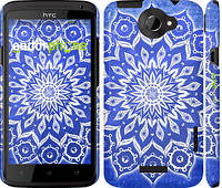 "Чехол на HTC One X+ Восточный узор v2 ""2863c-69"""