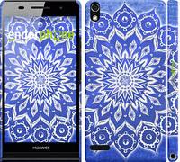 "Чехол на Huawei Ascend P6 Восточный узор v2 ""2863c-39"""