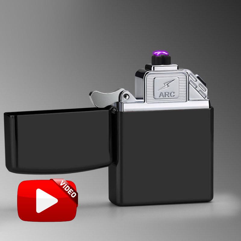 Электроимпульсная USB зажигалка Zippo improved graphite 024_1