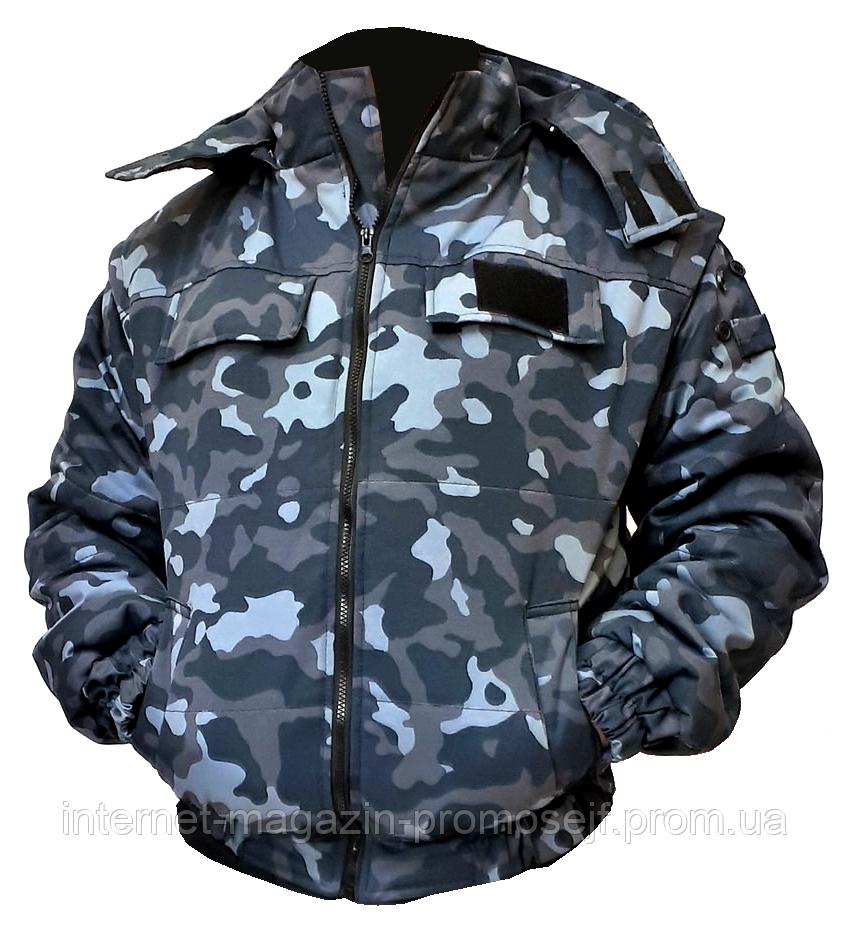Куртка рабочая «Охрана» камуфляж