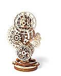 Стимпанк-часики | UGEARS | Механический 3D конструктор из дерева, фото 2