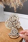 Стимпанк-часики | UGEARS | Механический 3D конструктор из дерева, фото 6