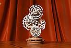 Стимпанк-часики | UGEARS | Механический 3D конструктор из дерева, фото 7