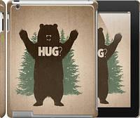 """Чехол на iPad 2/3/4 Обними медведя """"2861c-25"""""""