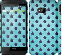 "Чехол на HTC One M7 Звезды v2 ""2862c-36"""