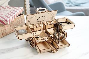 Антикварная шкатулка | UGEARS | Механический 3D конструктор из дерева