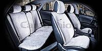 Накидки на сидіння CarFashion Модель: CITY PLUS Сірий - сірий (22477), фото 1