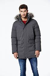 Куртка-парка теплая/зимняя мужская