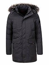 Куртка-парка теплая/зимняя мужская, фото 3