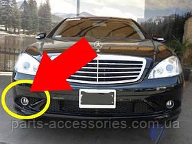 Mercedes W 221 W221 S решетка AMG правая в бампер 06-09 новая оригинал