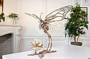 Бабочка | UGEARS | Механический 3D конструктор из дерева
